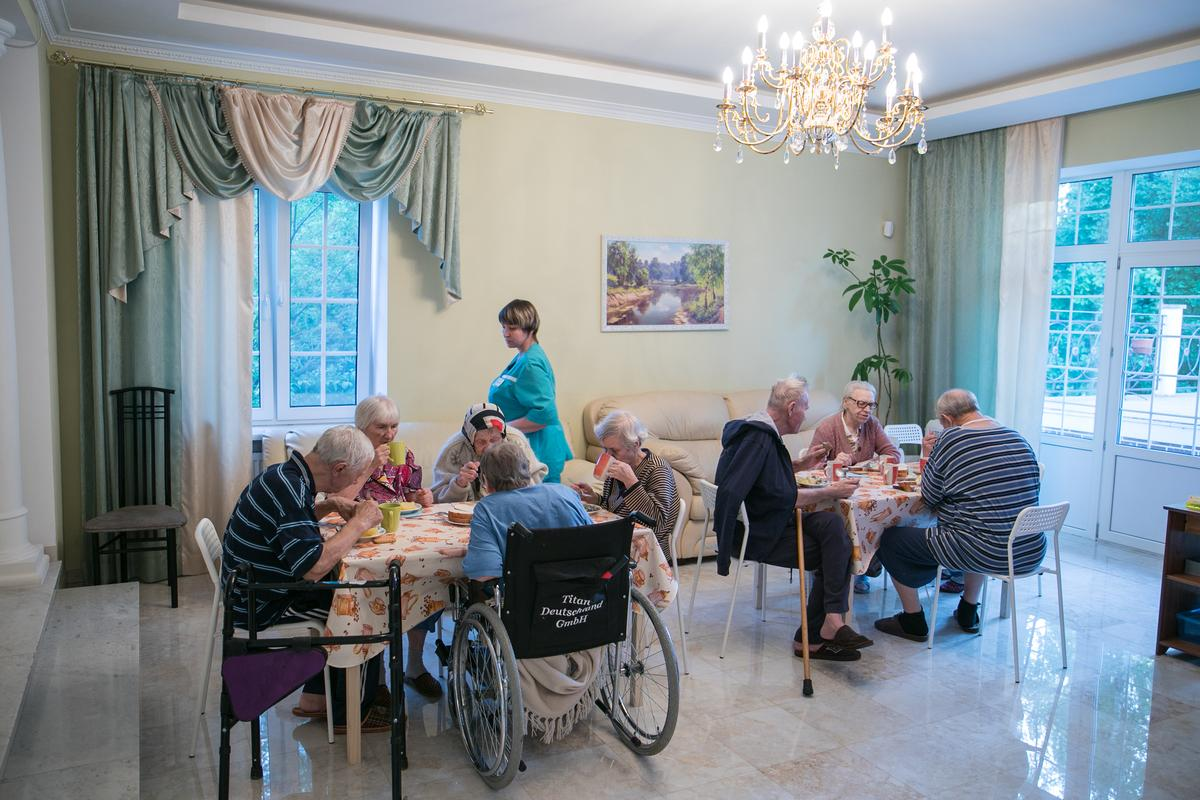 Пансионат для пожилых в истре где купить дом престарелых