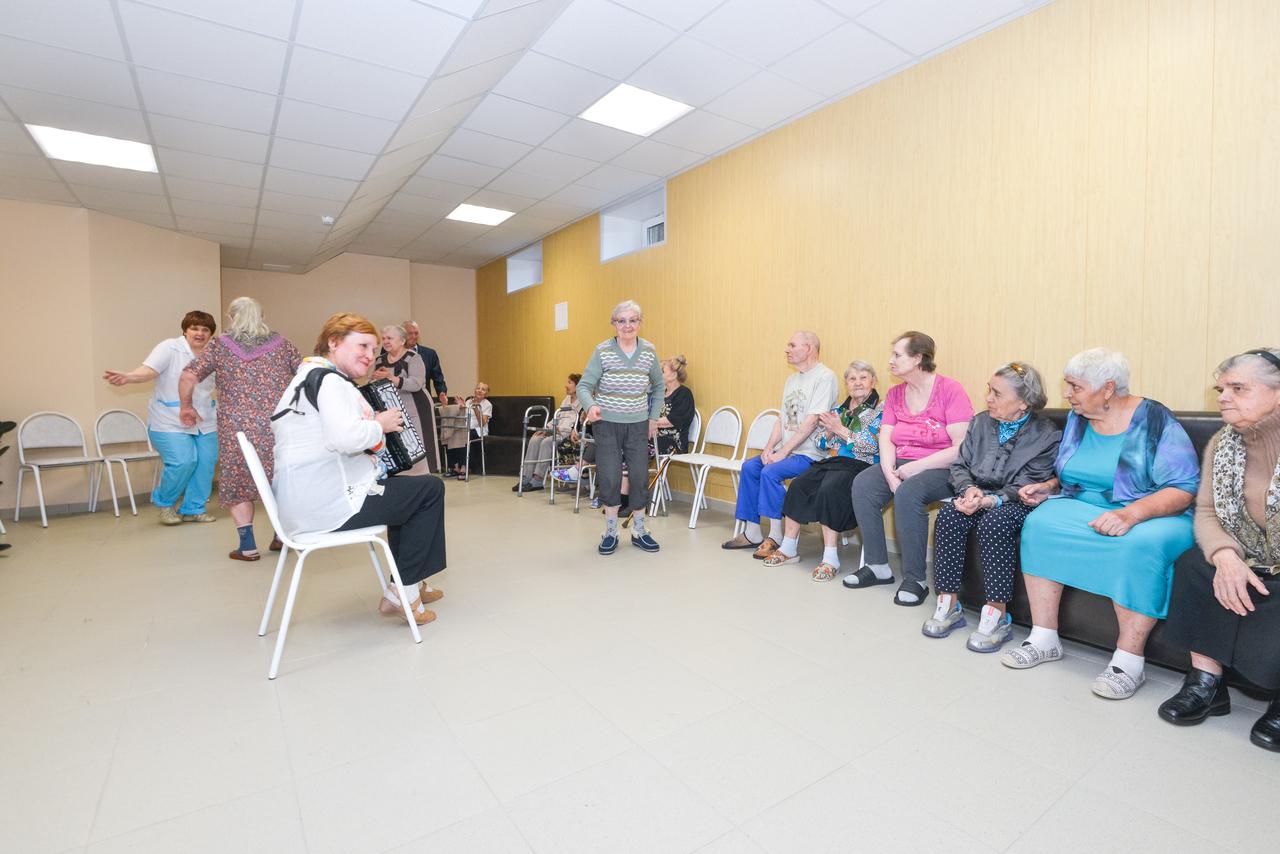 социальные дома престарелых москве