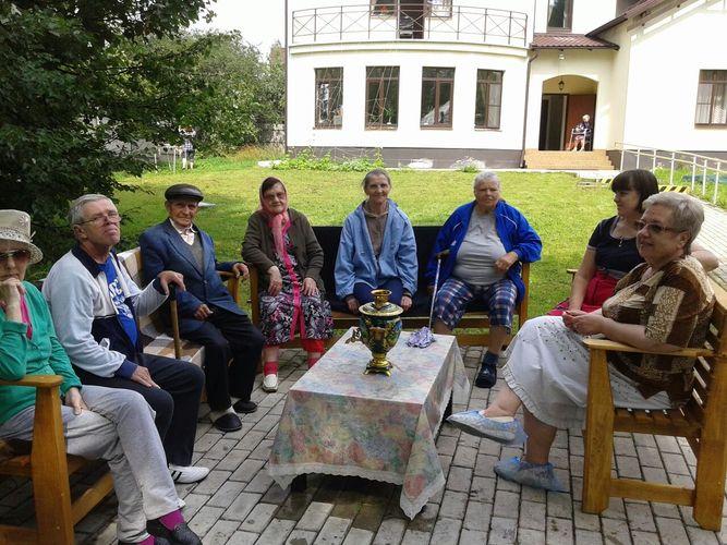 Пансионат для пожилых людей в одинцовском районе в глазынино перечень помещений для дома престарелых