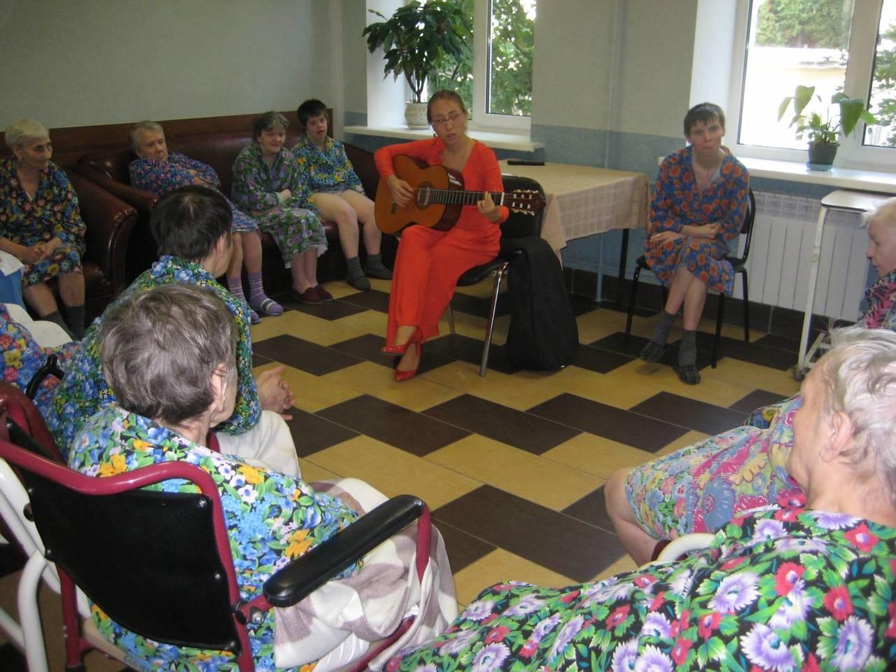 Психоневрологический дом престарелых в москве оформление дом престарелых украине