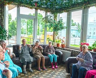 Пансионат для пожилых клинский район символ для дома престарелых